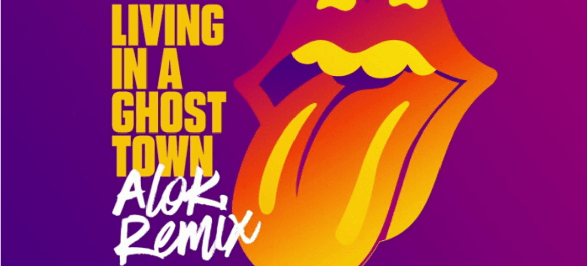"Rolling Stones: ""Living in a Ghost Town"" ganha remix do brasileiro Alok"
