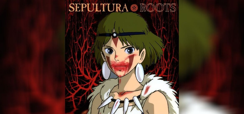 Álbum Roots do Sepultura em versão da cultura Anime