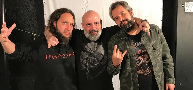 Rafael Masini, Daniel Dystyler e Nando Machado