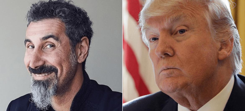 Serj Tankian e Donald Trump