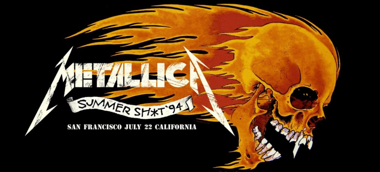 Metallica transmite hoje, 13, show de 1994 em São Francisco, cidade natal da banda