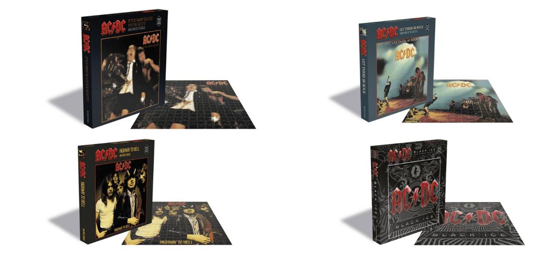 AC/DC ganha mais quatro quebra-cabeças inspirados em capas de álbum