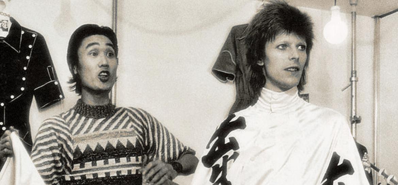 Kansai Yamamoto e David Bowie