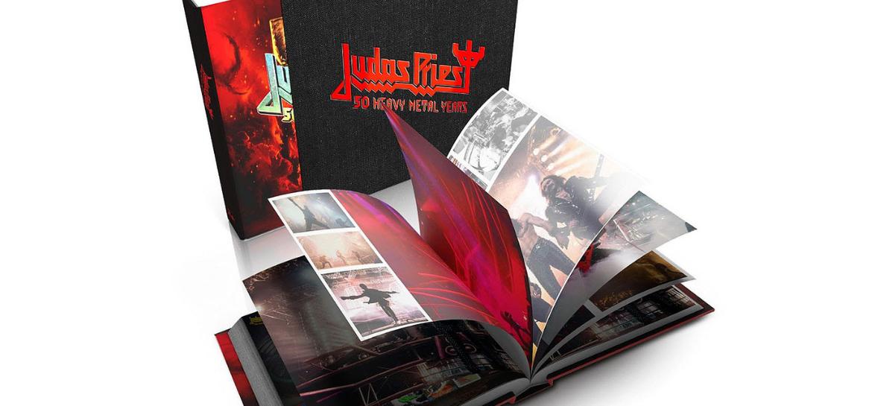 Livro 'Judas Priest – 50 Heavy Metal Years'