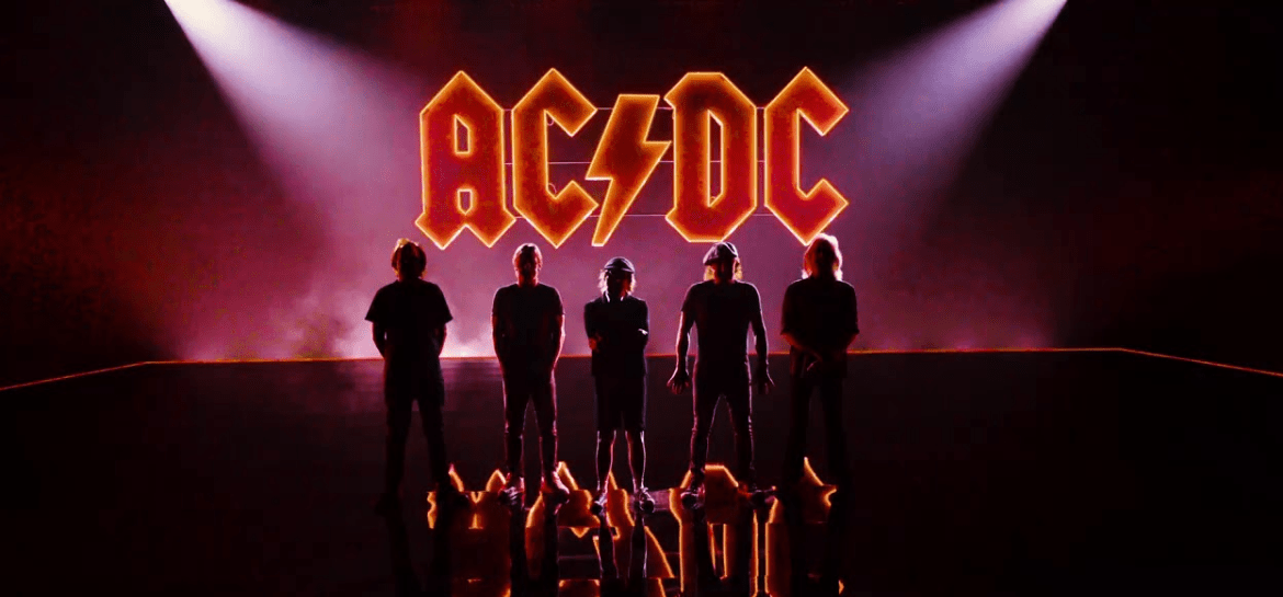"AC/DC em ""Shot In The Dark"""