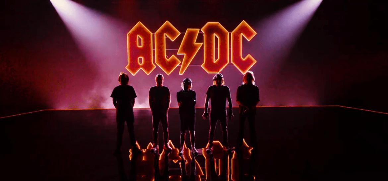 """AC/DC em """"Shot In The Dark"""""""