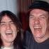 Malcolm Young e Brian Johnson