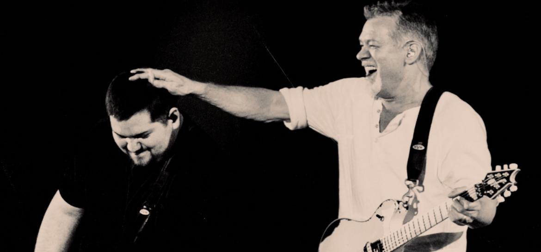 Wolfgang e Eddie Van Halen