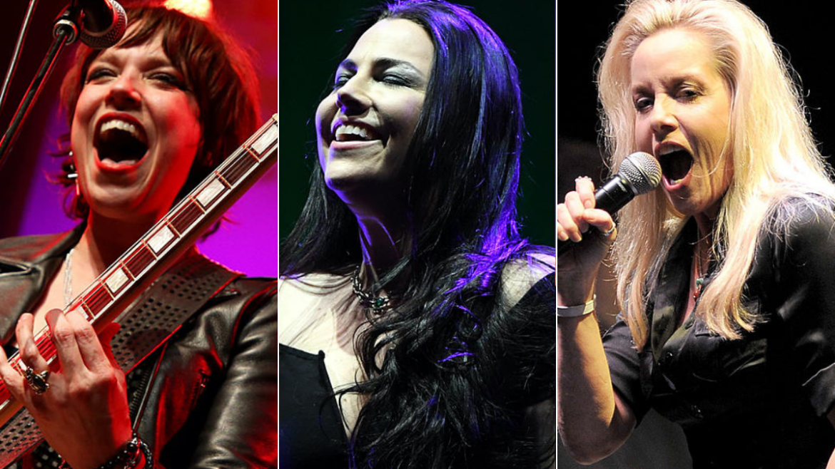 Lzzy Hale, Amy Lee e Cherie Currie