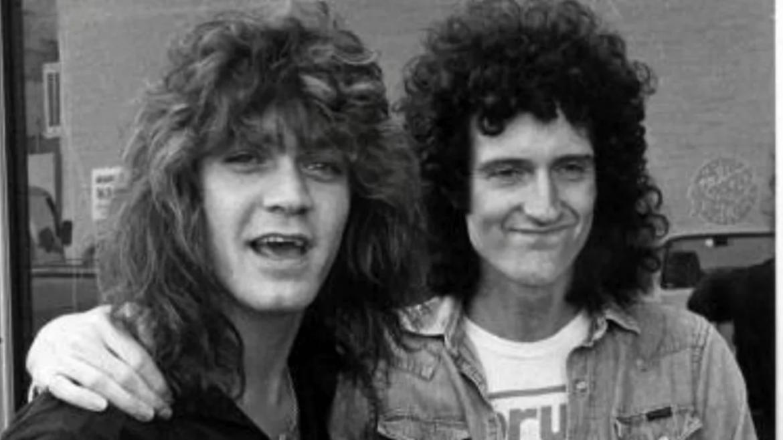 Eddie Van Halen e Brian May