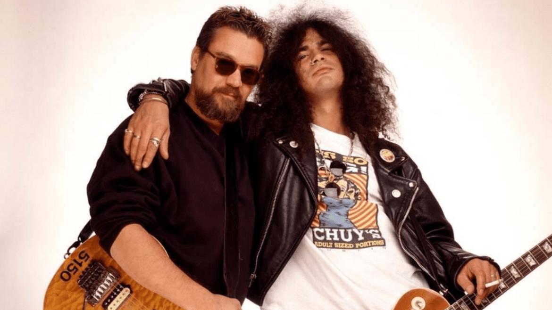 Eddie Van Halen e Slash