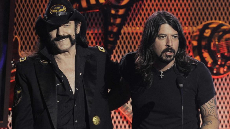 Lemmy e Dave Grohl