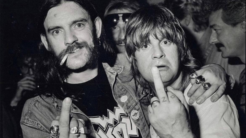 Lemmy e Ozzy Osbourne