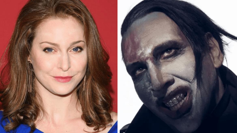 Esmé Bianco e Marilyn Manson