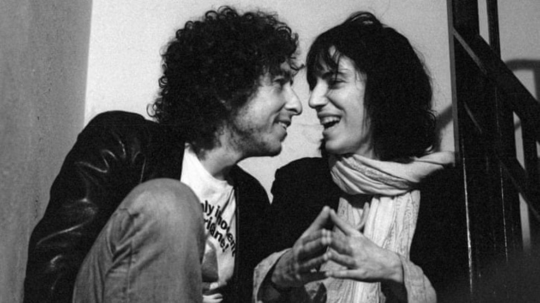 Bob Dylan e Patti Smith