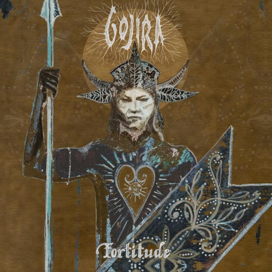 Capa do álbum 'Fortitude', do Gojira