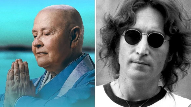 Monja Coen e John Lennon