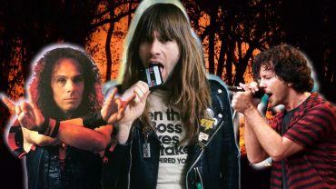 Dio, Bruce Dickinson e Eddie Vedder