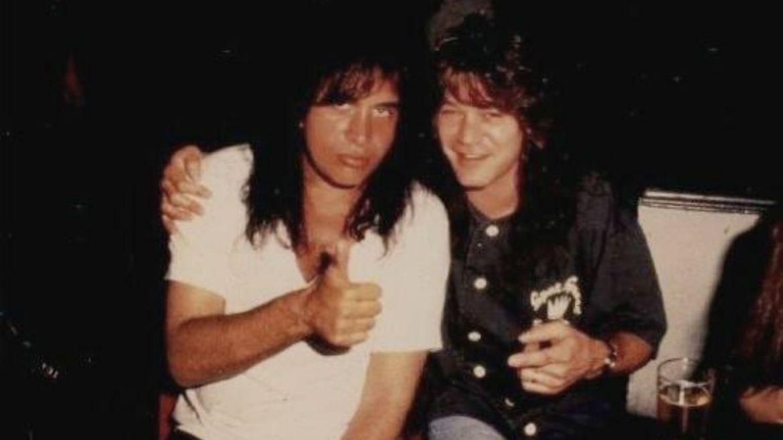 Genne Simmons e Eddie Van Halen