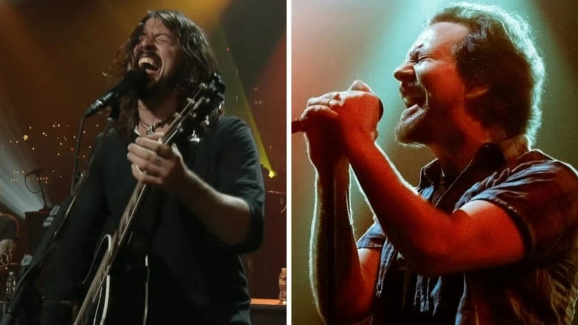 Foo Fighters e Eddie Vedder