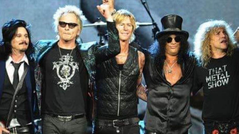 Guns N' Roses no Hall of Fame 2012
