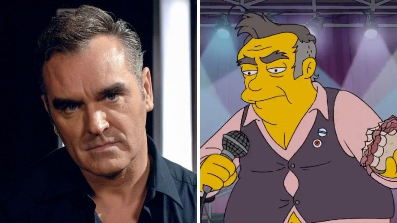 Morrissey foi representado em 'The Simpsons'
