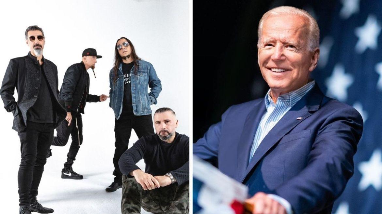 System of a Down e Joe Biden