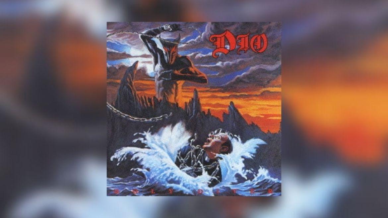 Capa do disco 'Holy Diver' do Dio