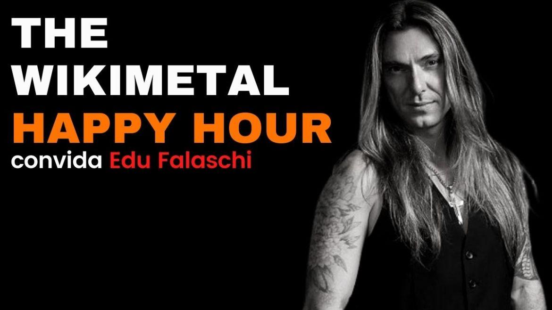 'The Wikimetal Happy Hour com Edu Falaschi