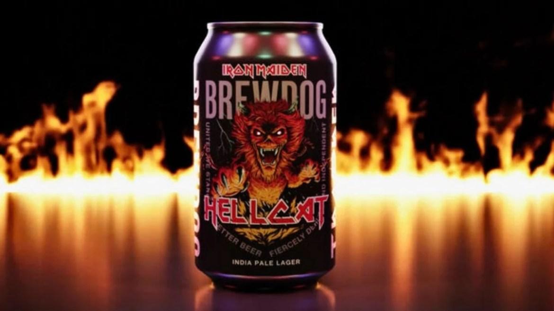 Hellcat, nova cerveja do Iron Maiden