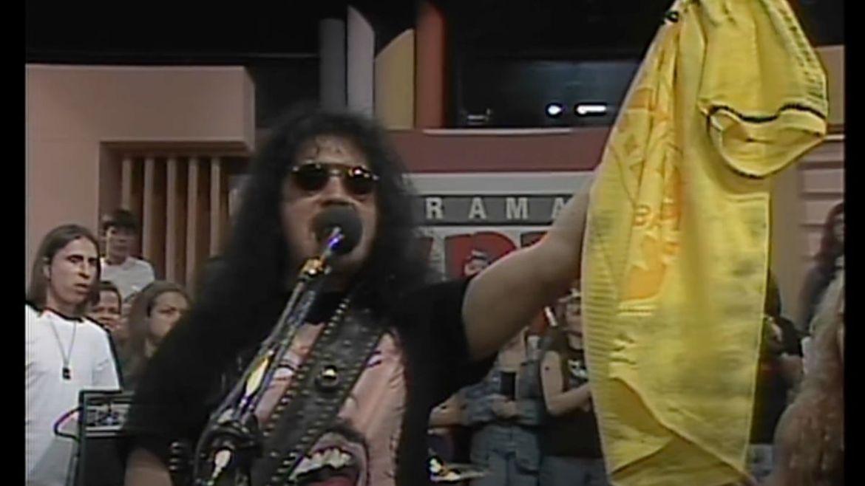 Kiss no 'Programa Livre', do SBT, em 1994