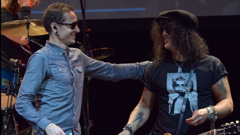 Chester Bennington e Slash