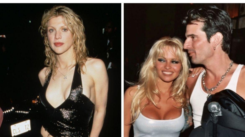 Courtney Love & Pam e Tommy