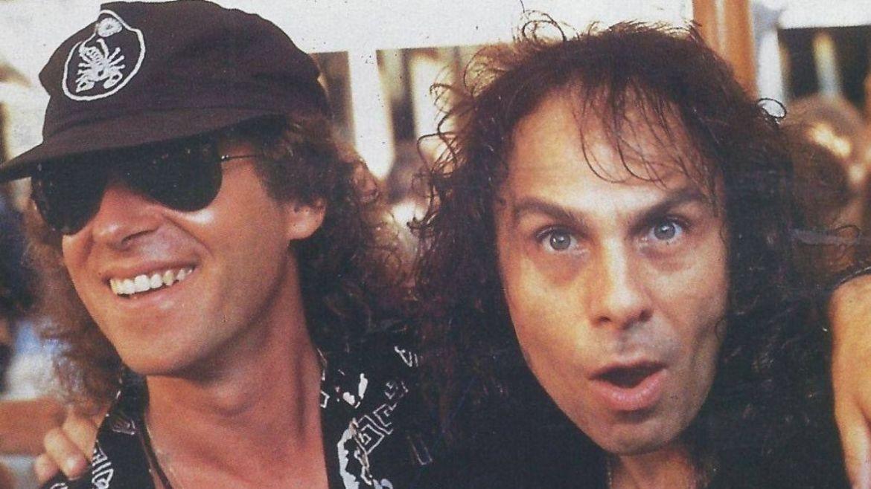 Klaus Meine e Ronnie James Dio