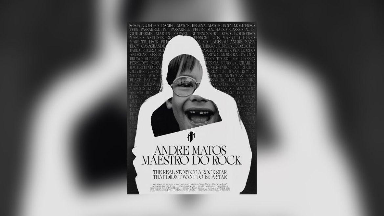 Pôster do documentário 'Andre Matos - Maestro do Rock'