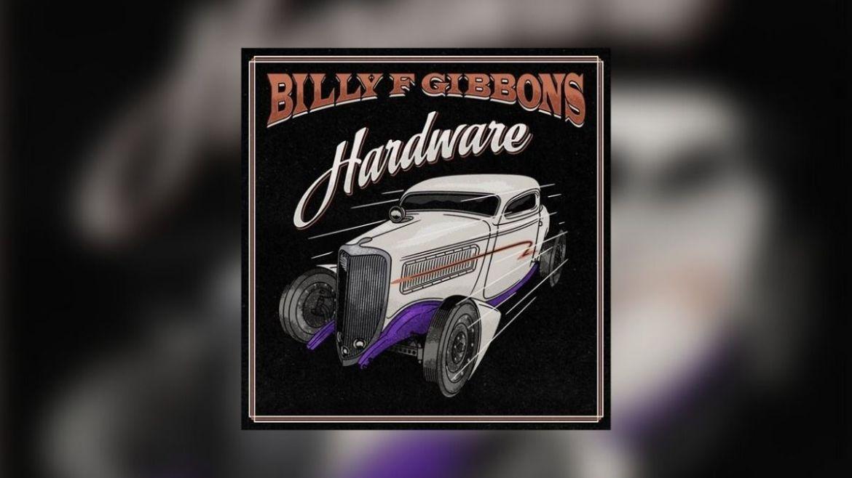 Capa do disco 'Hardware' do Billy F Gibbons