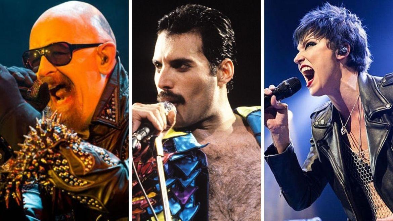 Rob Halford, Freddie Mercury e Lzzy Hale
