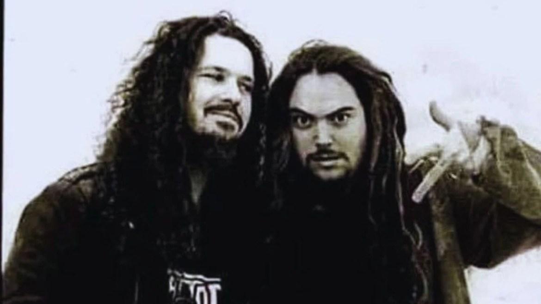 Dimebag Darrell e Max Cavalera