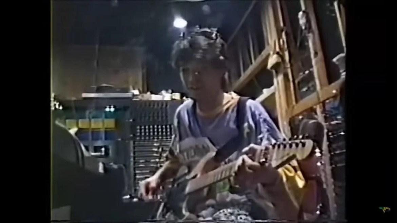 Eddie Van Halen em 1985