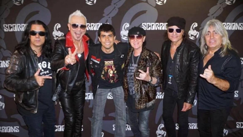 Scorpions e David Araújo no Madison Square Garden