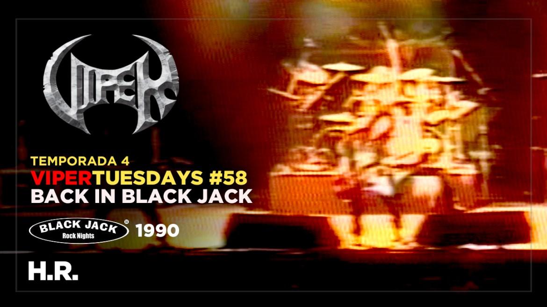 H.R. - Back in Black Jack 1990 - VIPER Tuesdays