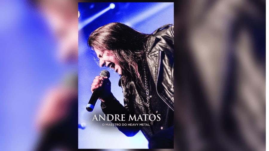 Biografia 'O Maestro do Heavy Metal', de Andre Matos