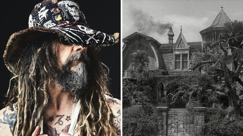 Rob Zombie e mansão de The Munsters