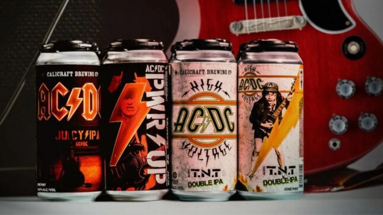 Novos sabores de cerveja do AC/DC