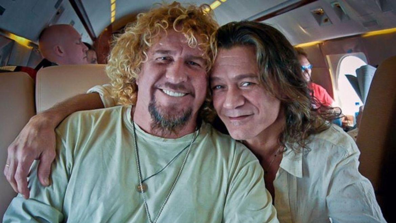 Sammy Hagar e Eddie Van Halen