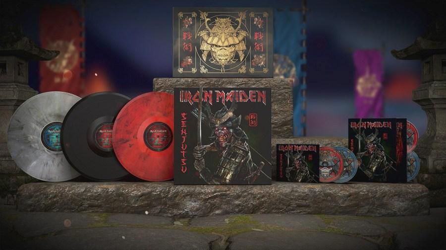 Iron Maiden - Box set 'Senjutsu'