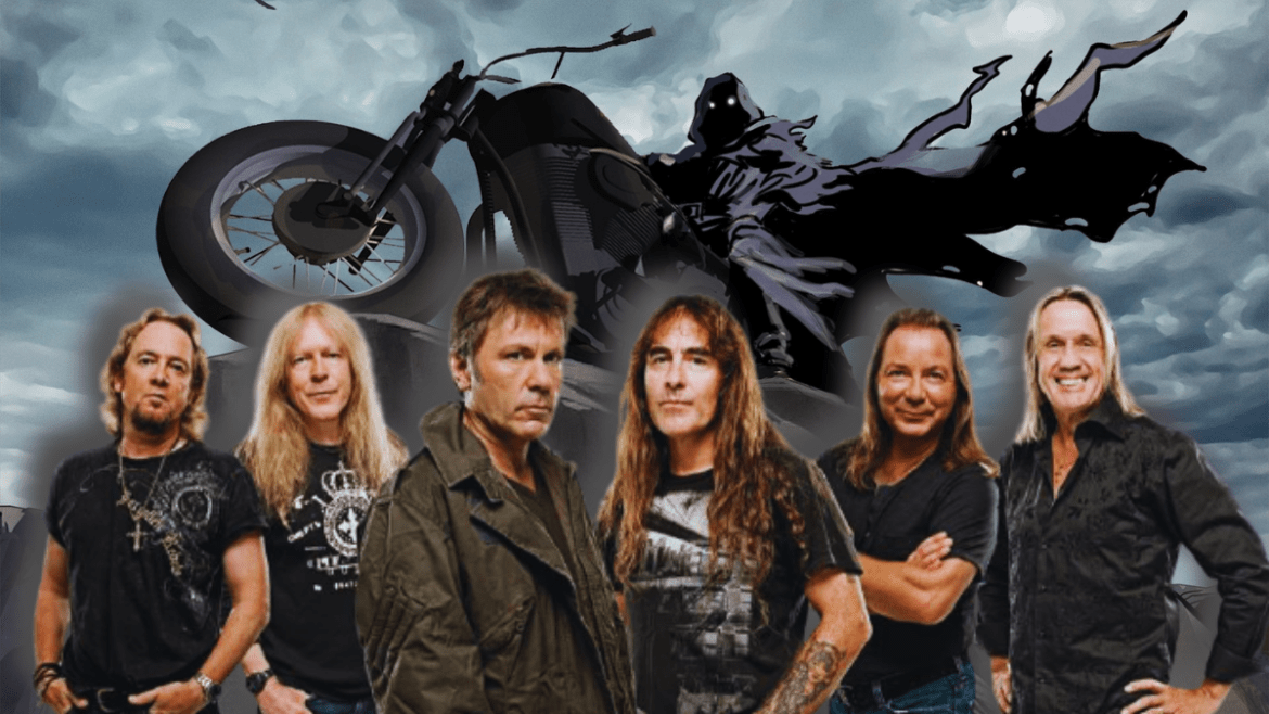 """Iron Maiden e """"The Writing On The Wall"""""""