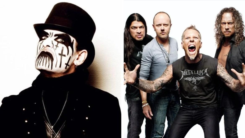 King Diamond e Metallica