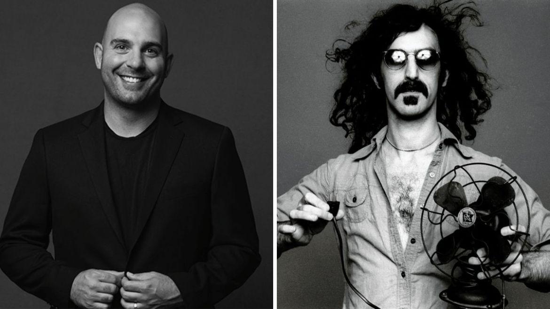 Ahmet e Frank Zappa