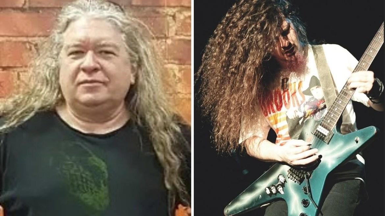 """Buddy """"Blaze"""" Webster, designer da guitarra Dean From Hell de Dimebag Darrell"""